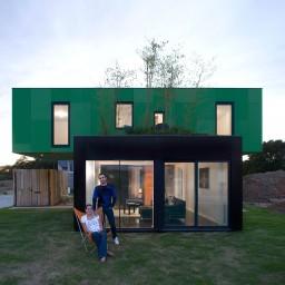 CROSS BOX - maison container - B3 ecodesign