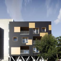 Architecture cubique pour des logements collectifs urbains