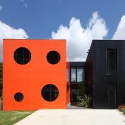 maison d'architecte en container