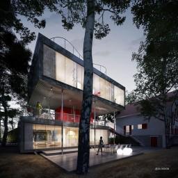 maison container à étage