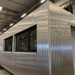 Exemple de construction de maison container